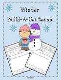 Kindergarten Build-A-Sentence {Winter Theme}