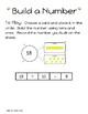 Kindergarten Build a Number Game