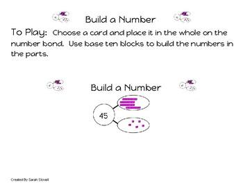 Kindergarten Build a Number to 100 Game