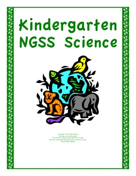 Kindergarten Bundle 15 Science Lessons NGSS Aligned