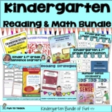 Kindergarten Bundle - English Language Arts and Math Printables