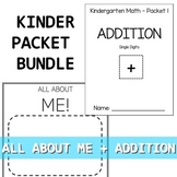 Kindergarten Bundle SPECIAL!