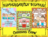 Kindergarten Bundle Task Cards Printables Common Core