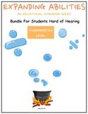 Kindergarten Bundle for Students Hard of Hearing