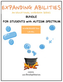 Kindergarten Bundle for Students with Autism Spectrum