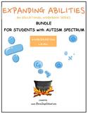 Kindergarten Bundle for Students with Autism Spectrum
