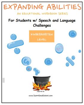 Kindergarten Bundle for Students with Speech and Language Challenges