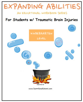 Kindergarten Bundle for Students with Traumatic Brain Injuries