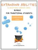 Kindergarten Bundle for Traditional Students