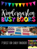 Kindergarten Busy Books