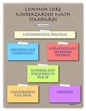 Kindergarten CC Math Assessment Guide