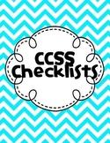 Kindergarten CCSS Checklist