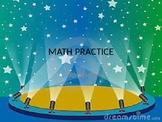 Kindergarten CCSS Math Practice
