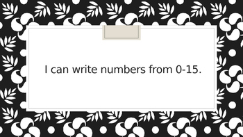 """Kindergarten CCSS Math Standards in """"I Can"""" statements for 2nd Quarter"""