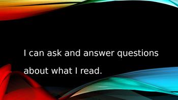 """Kindergarten CCSS Reading Informational Standards in """"I Ca"""
