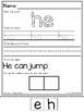 Kindergarten CKLA Skills Unit 10 Tricky Words