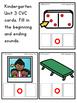 Kindergarten CKLA Skills Unit 3 CVC Cards