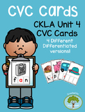 Kindergarten CKLA Skills Unit 4 CVC Cards