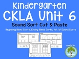 Kindergarten CKLA Skills Unit 6 Sound Sorts