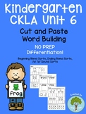 Kindergarten CKLA Skills Unit 6 Word Building- Beginning and Ending Blends
