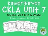Kindergarten CKLA Skills Unit 7 Digraph Sorts