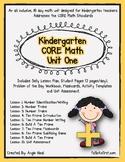 Kindergarten CORE Math Unit 1