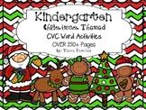Kindergarten CVC Christmas Themed Activites