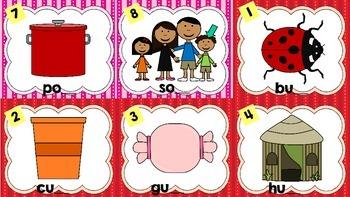 Kindergarten CVC Write the Room Cards