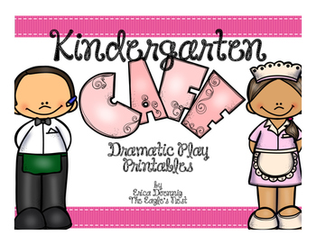 Kindergarten Cafe--Dramatic Play Printables