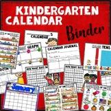 Kindergarten Calendar Binder - for student use