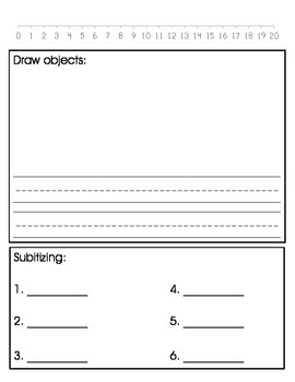 Kindergarten Calendar Journal