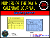 Kindergarten Calendar Journal & Number of the Day- TEKS Based