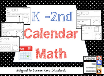 Kindergarten - Calendar Morning Math