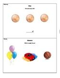 Kindergarten Calendar Packet - October