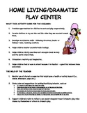 Kindergarten Center Signs  Teacher Role and Student Role