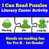 Reading Center   Kindergarten 1st Grade   Reading Sentence
