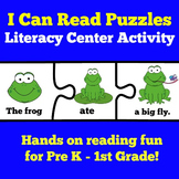 Reading Centers Activity Kindergarten First Grade