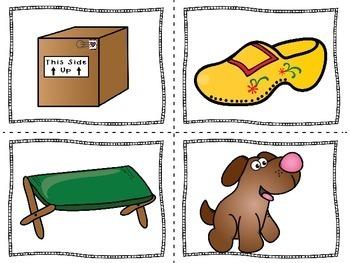 Kindergarten Literacy Center | Short O  Activity