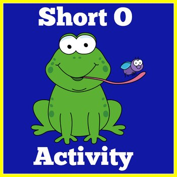 Kindergarten Literacy Center   Short O  Activity