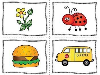 Kindergarten Literacy Center | Short U Activity