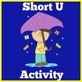 Short U   Worksheets Activity   Preschool Kindergarten 1st