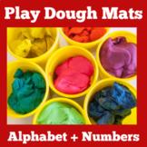 Play Dough Mats   Preschool Kindergarten   Math Center Activity