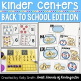Kindergarten Centers {Back to School Centers} Math & Literacy Centers