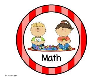 Kindergarten Centers Bundle