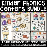 Kindergarten Centers Bundle {Kindergarten Phonics Centers Bundle}