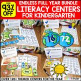 Kindergarten Centers Bundle - Simply Centers Year Long Bun