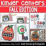 Kindergarten Centers {Fall Centers} Math & Literacy Centers