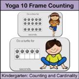 Kindergarten Math Centers: Fitness 10 Frames up to 20