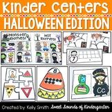 Kindergarten Centers {HALLOWEEN Centers} Math & Literacy Centers
