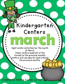 Kindergarten Centers - March